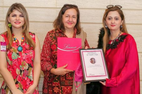 Ameena Saiyid OBE SI headlines LADIESFUND's 26th Power Lunch