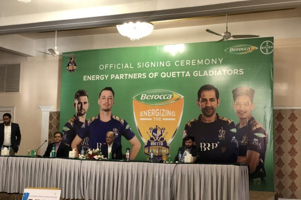 Bayer's Berocca joins hands with the Quetta Gladiators as official energy partner for HBL PSL 6