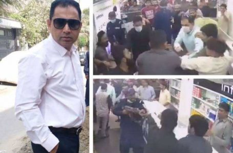 PTI MNA Aslam Khan and his guards beat the staff of a mobile shop owner but why?