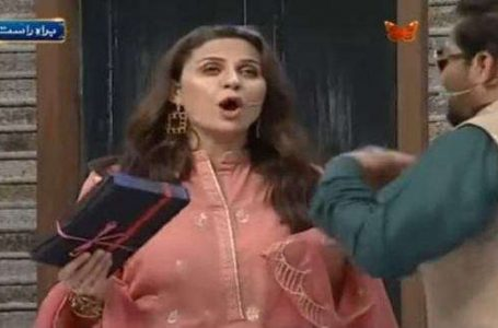 Nausheen Shah loses her cool and scolded Dr. Aamir Liaquat