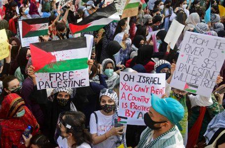 Pakistani stars raised voice for Palestine in Karachi protest