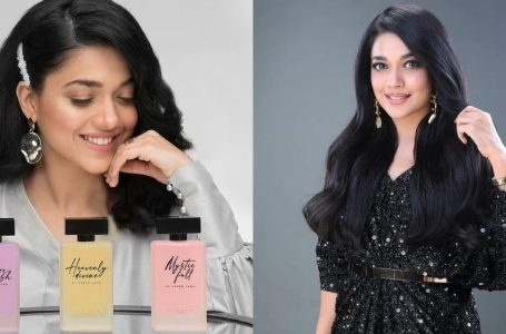 Sanam Jung launches her own perfume line