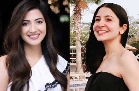 Battle of the beauties as social media compares Ayman Saleem with Anushka Sharma