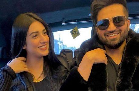 Falak Shabbir says Sarah Khan is pregnant with their first child