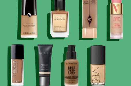 Top foundations for oily skin